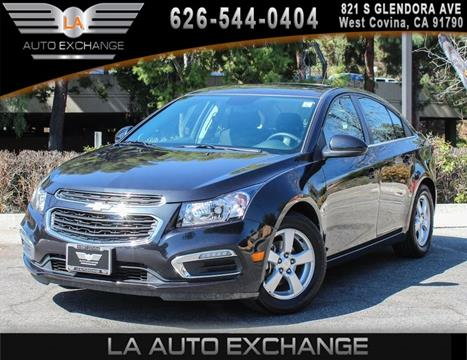 2015 Chevrolet Cruze for sale in West Covina, CA
