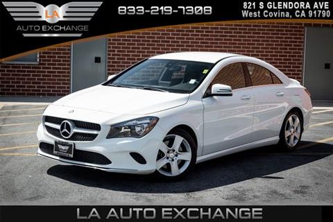 2017 Mercedes Benz CLA For Sale In West Covina, CA