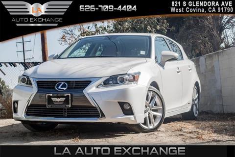 2016 Lexus CT 200h For Sale In West Covina, CA