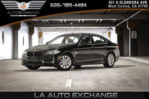 2016 BMW 5 Series for sale in West Covina, CA
