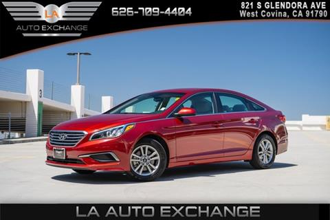 2016 Hyundai Sonata for sale in West Covina, CA
