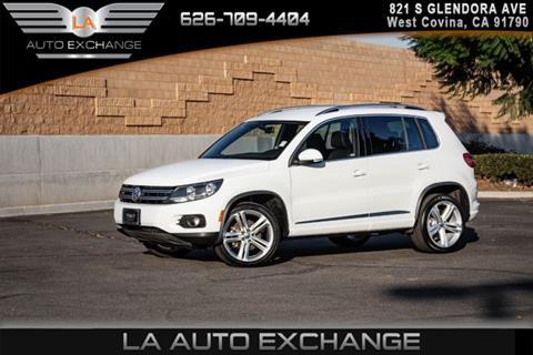 2016 Volkswagen Tiguan for sale in West Covina, CA