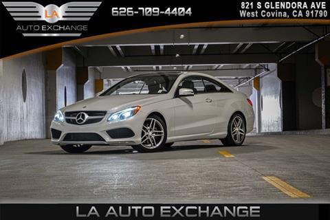 2016 Mercedes-Benz E-Class for sale in West Covina, CA