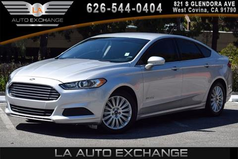 2015 Ford Fusion Hybrid for sale in West Covina, CA