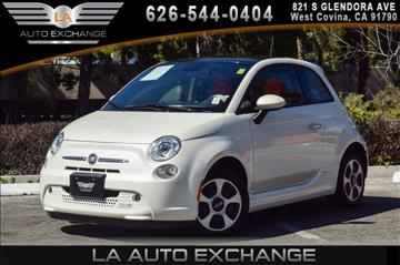 2015 FIAT 500e for sale in West Covina, CA