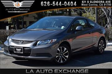 2013 Honda Civic for sale in West Covina, CA