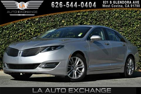 2013 Lincoln MKZ for sale in West Covina, CA