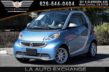 2014 Smart fortwo for sale in West Covina, CA