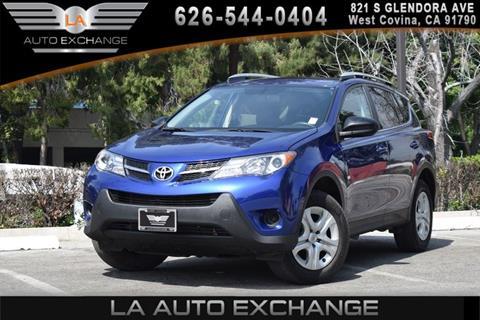 2014 Toyota RAV4 for sale in West Covina, CA