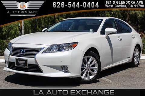 2014 Lexus ES 300h for sale in West Covina, CA