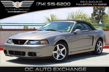 2003 Ford Mustang SVT Cobra for sale in Fullerton, CA