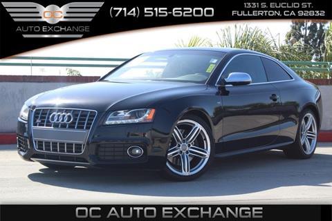 2011 Audi S5 for sale in Fullerton, CA