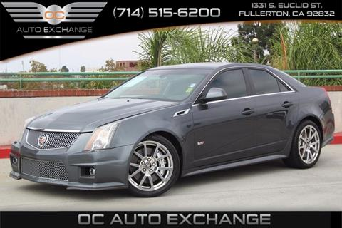 2012 Cadillac CTS-V for sale in Fullerton, CA