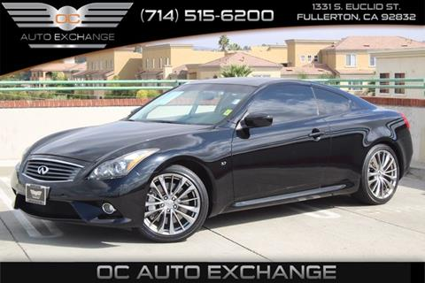 2014 Infiniti Q60 Coupe for sale in Fullerton, CA
