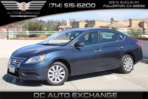 2014 Nissan Sentra for sale in Fullerton, CA
