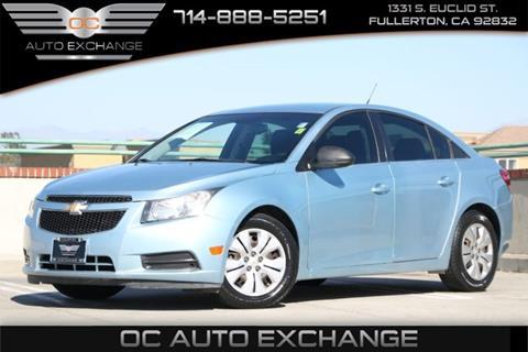 2012 Chevrolet Cruze for sale in Fullerton, CA
