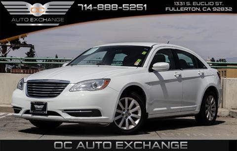 2013 Chrysler 200 for sale in Fullerton, CA