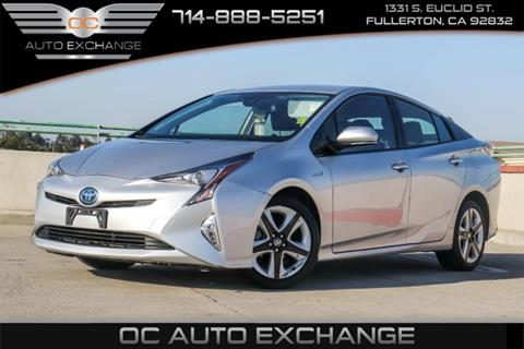 2016 Toyota Prius for sale in Fullerton, CA