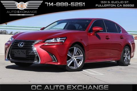 2016 Lexus GS 200t for sale in Fullerton, CA