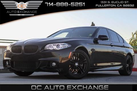 2016 BMW 5 Series for sale in Fullerton, CA