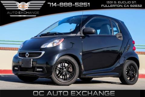 2013 Smart fortwo for sale in Fullerton, CA