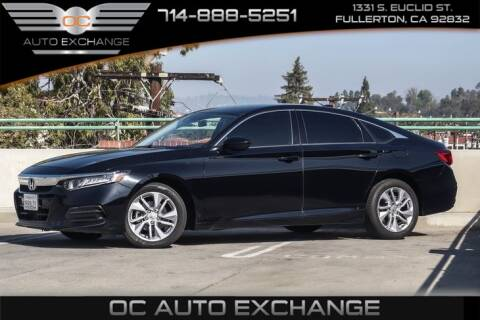 2018 Honda Accord LX for sale at OC AUTO EXCHANGE in Fullerton CA