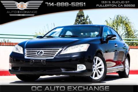 2011 Lexus ES 350 for sale at OC AUTO EXCHANGE in Fullerton CA