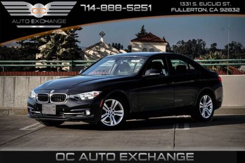2016 BMW 3 Series 328i for sale at OC AUTO EXCHANGE in Fullerton CA
