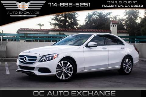 2016 Mercedes-Benz C-Class for sale at OC AUTO EXCHANGE in Fullerton CA