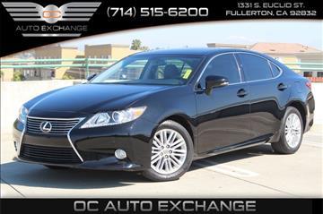 2013 Lexus ES 350 for sale in Fullerton, CA