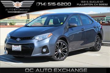 2014 Toyota Corolla for sale in Fullerton, CA