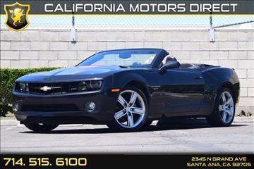 2012 Chevrolet Camaro for sale in Santa Ana, CA