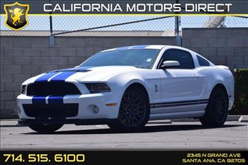 2014 Ford Shelby GT500 for sale in Santa Ana, CA