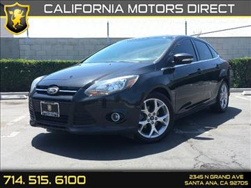 2013 Ford Focus for sale in Santa Ana, CA