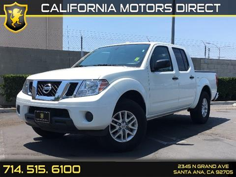 2016 Nissan Frontier for sale in Santa Ana, CA