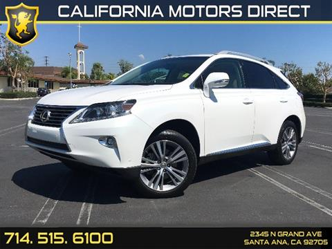 2015 Lexus RX 350 for sale in Santa Ana, CA
