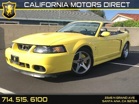 2003 Ford Mustang SVT Cobra for sale in Santa Ana, CA