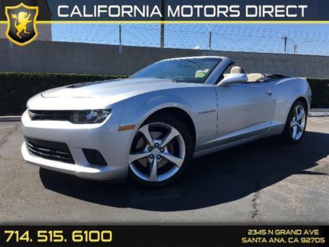 2014 Chevrolet Camaro for sale in Santa Ana, CA