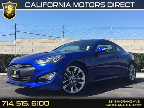 2013 Hyundai Genesis Coupe for sale in Santa Ana, CA