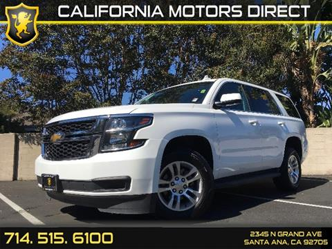 2016 Chevrolet Tahoe for sale in Santa Ana, CA