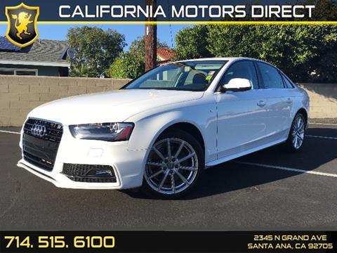 2014 Audi A4 for sale in Santa Ana, CA