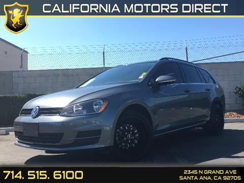 2015 Volkswagen Golf SportWagen for sale in Santa Ana, CA