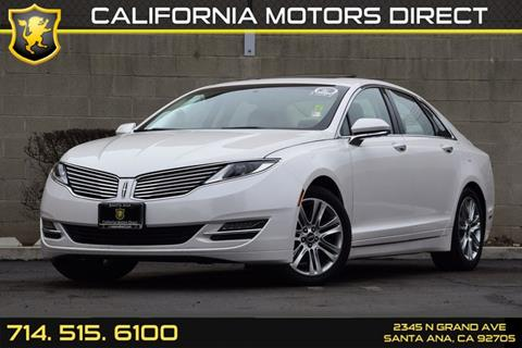 2013 Lincoln MKZ for sale in Santa Ana, CA