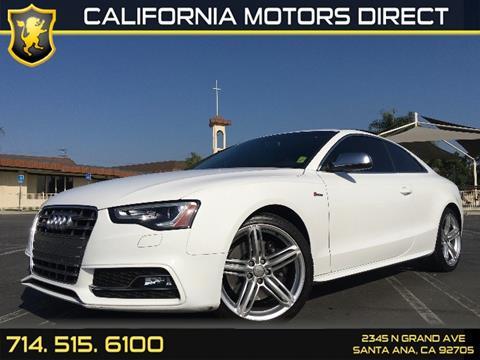 2014 Audi S5 for sale in Santa Ana, CA