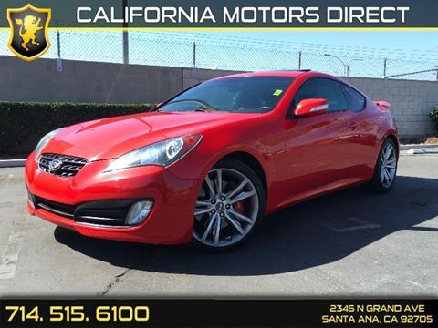 2012 Hyundai Genesis Coupe for sale in Santa Ana, CA