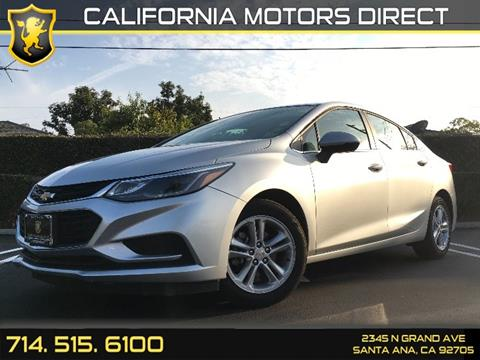 2016 Chevrolet Cruze for sale in Santa Ana, CA