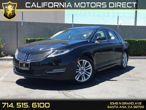 2014 Lincoln MKZ Hybrid for sale in Santa Ana, CA