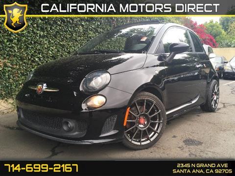 2015 FIAT 500c for sale in Santa Ana, CA