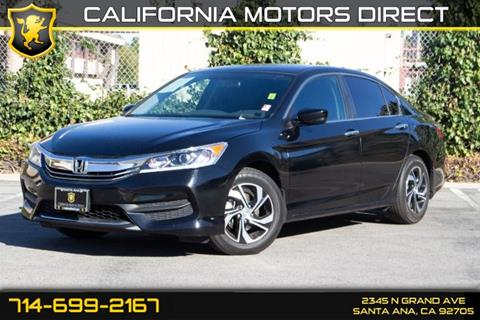 2017 Honda Accord for sale in Santa Ana, CA