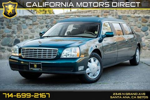 2003 Cadillac Deville Professional for sale in Santa Ana, CA